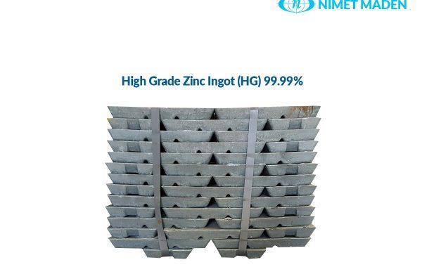 HG Zinc Ingot 99.99%