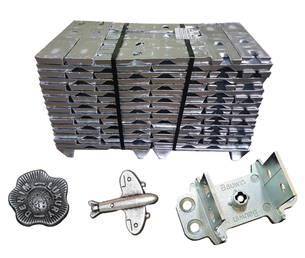 zinc die cast components